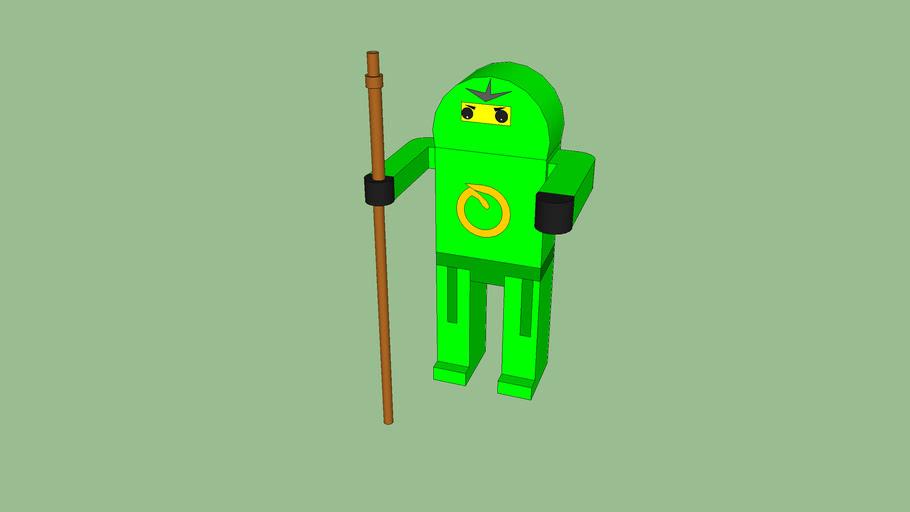 Ninjago Green Ninja 3d Warehouse