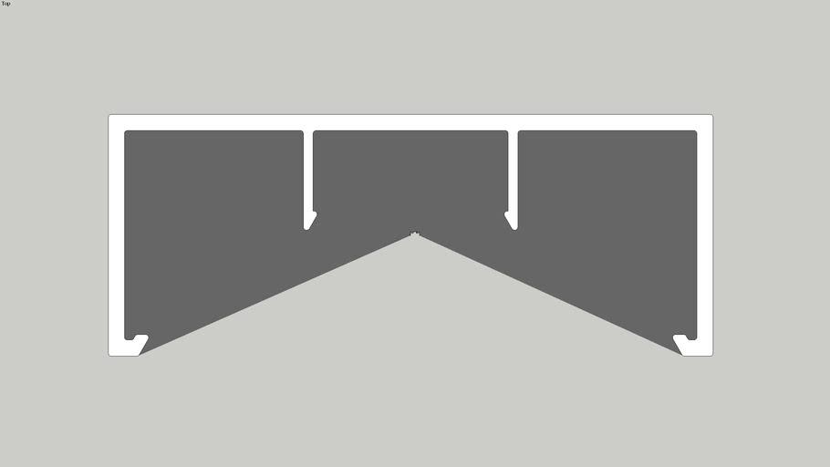 KESBTFR - KWHRC - Handrail Clip Rectangular (B)