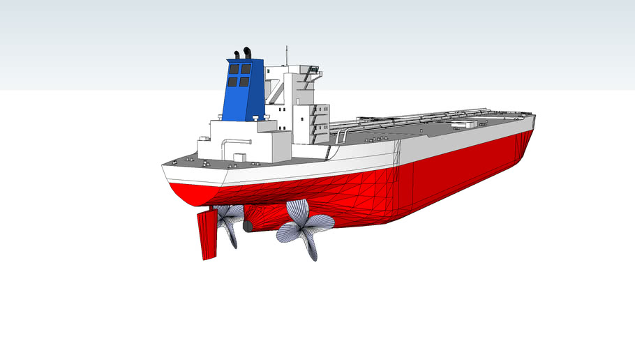 Tanker with Propellers