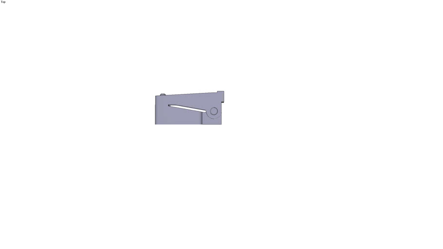 Large holding clamp - 73 x 25 x 35 mm