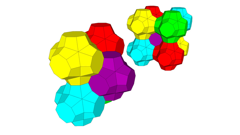 SHAPE FOR OCTAHEDRAL PACKING 2 WITHOUT SPACE