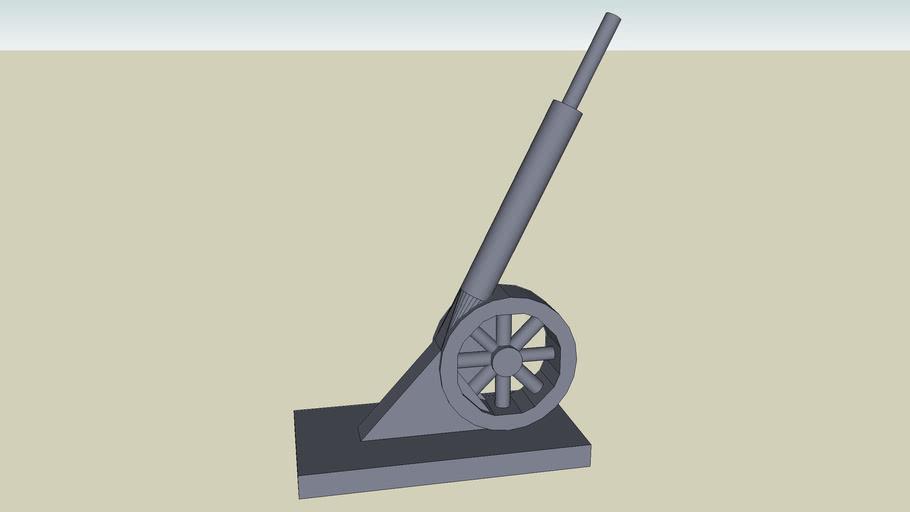 Monopoly Cannon Token