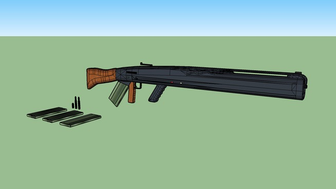 Rifle for 3d chalenge 089