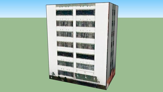 Building in 4丁目 旭町, Toyohira Ward, Sapporo City, Hokkaidō Prefecture, Ja