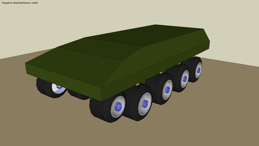 10wd ATV sketchyphysics Car style