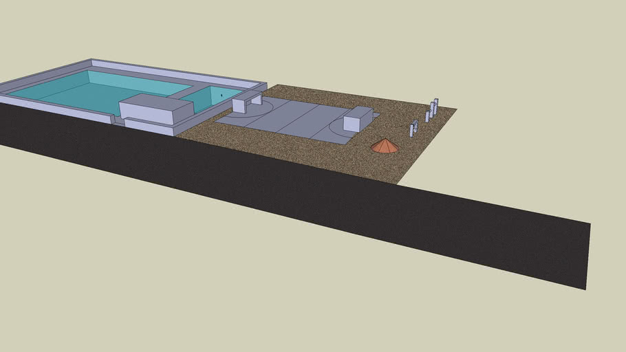 Swimming Pool + Playing Field (soccer and more)