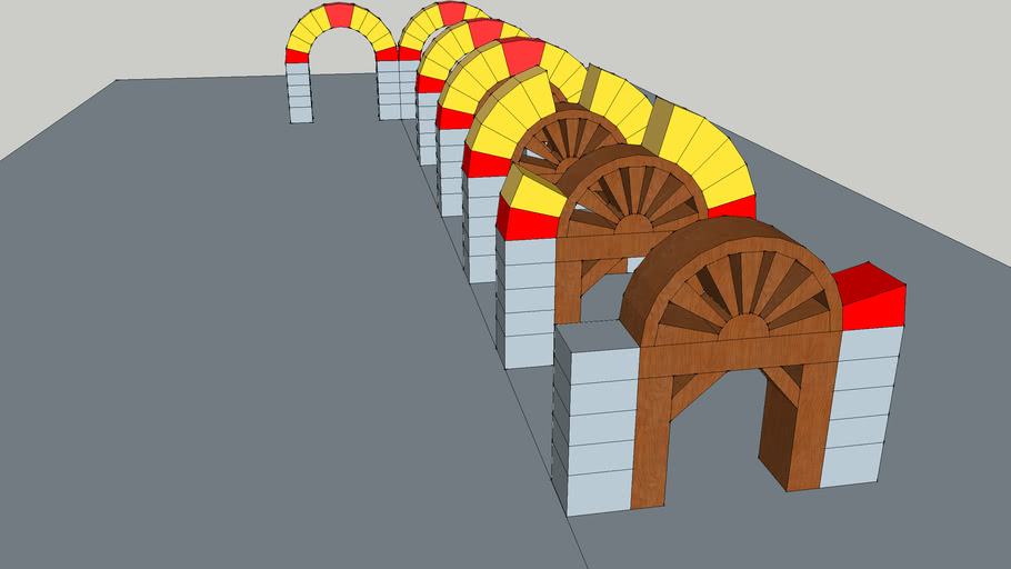 Arcos Romanicos