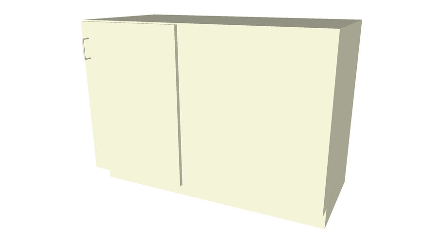 Base Cabinet 1 Door Blind Right