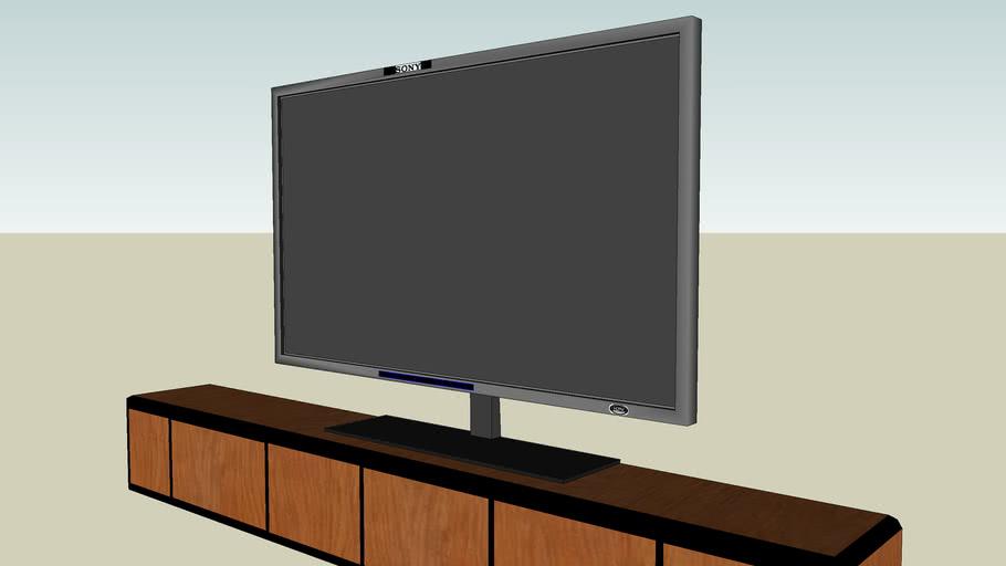 Sony Plazma HDTV.