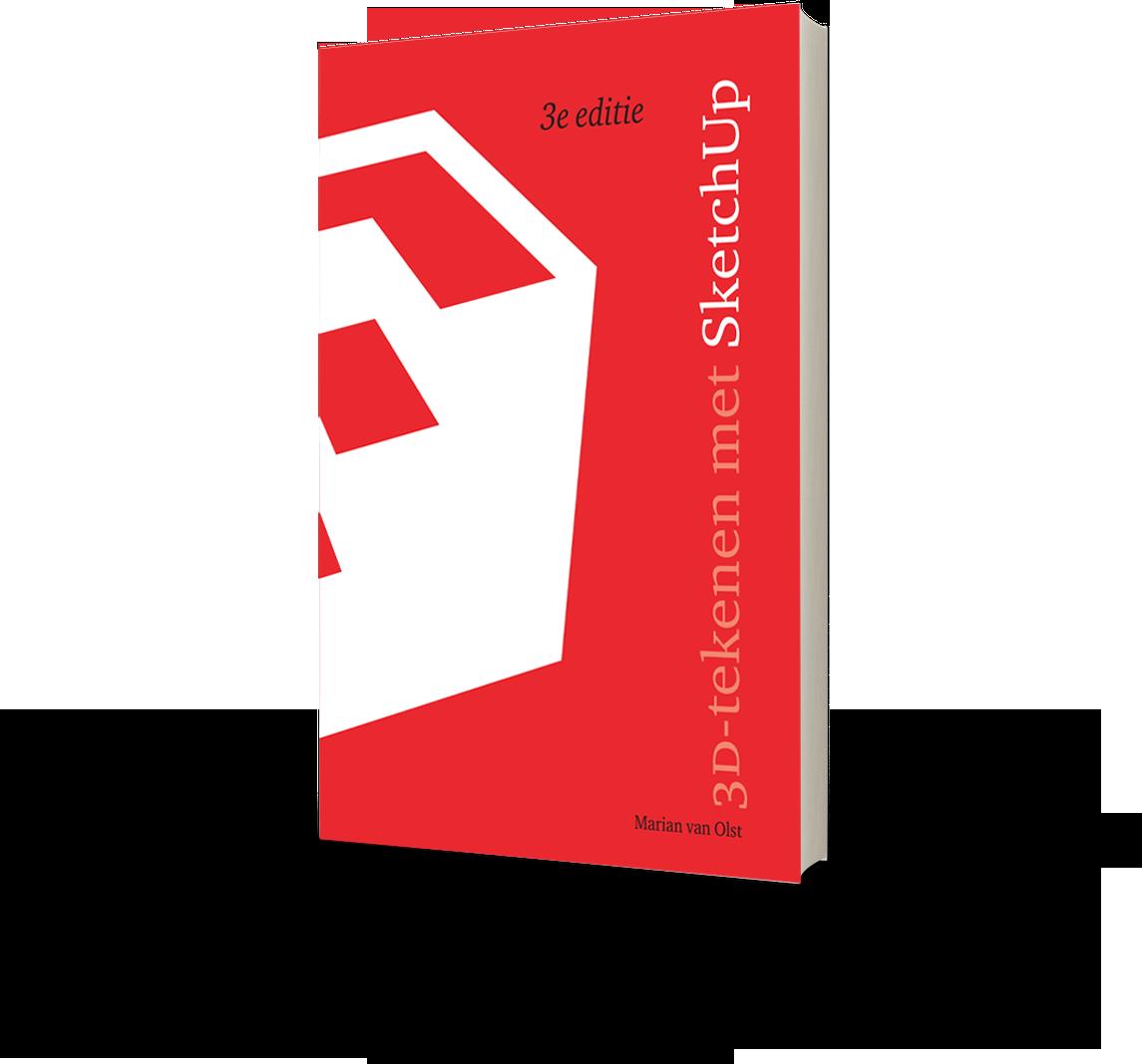 Componenten boek: 3D tekenen met Sketchup