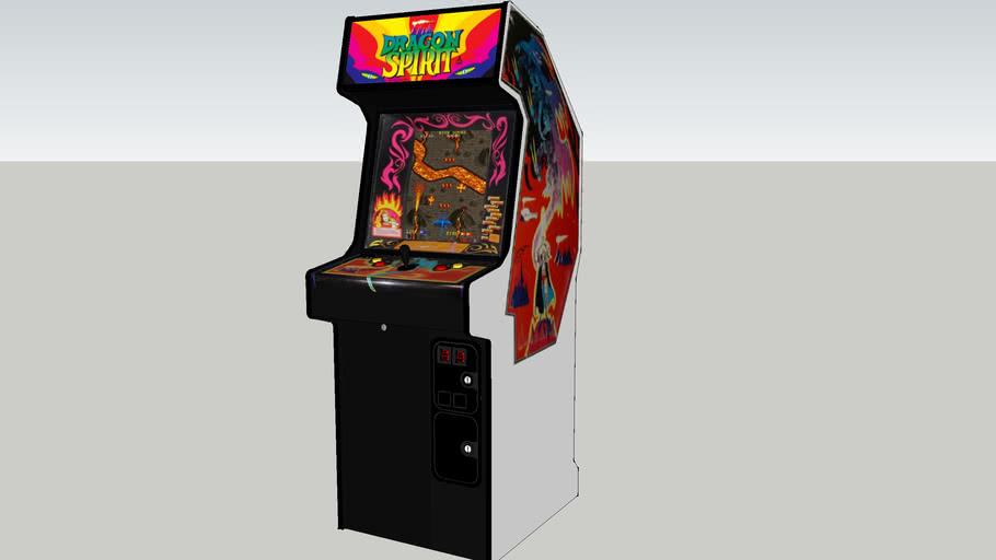 Dragon Spirit arcade game