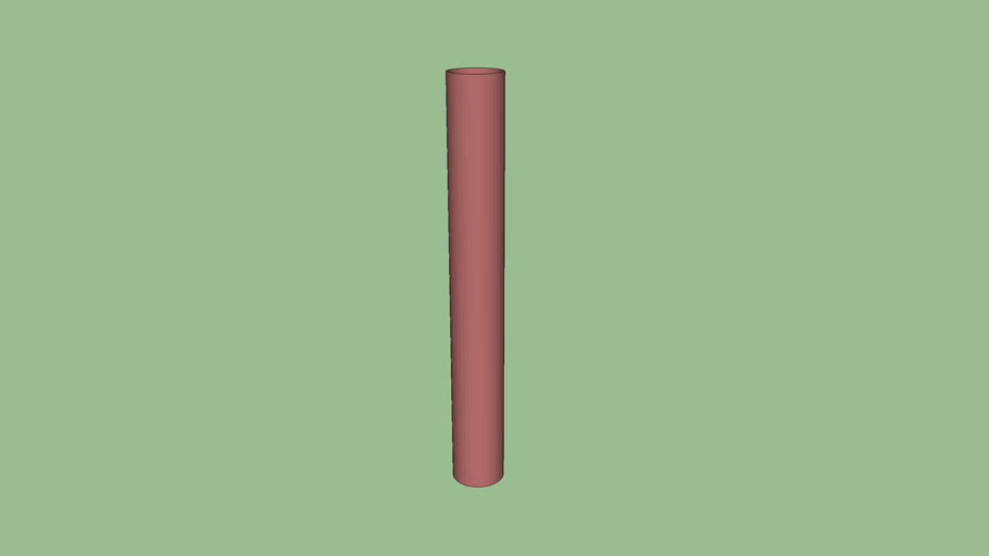 R-1007-10 Steel Pipe Security Bollard (10-3/4-in)
