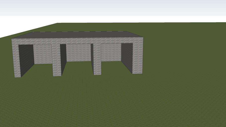 Open Garage 3 Doors