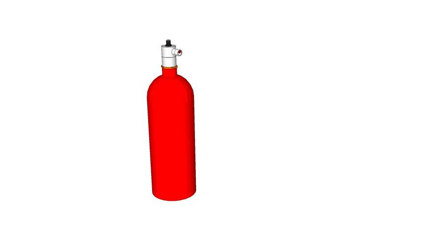 2kg Fire Extinguisher Cylinder