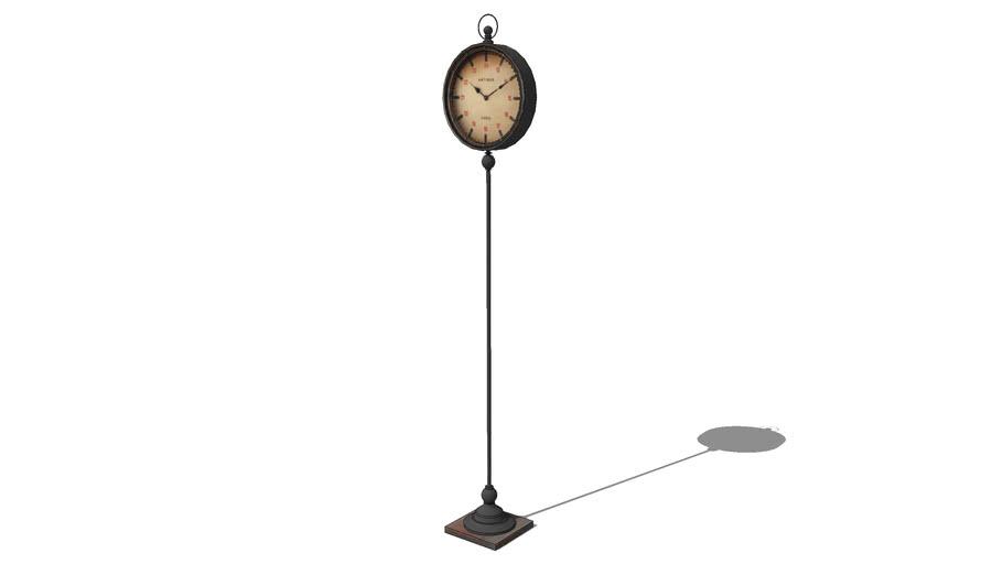 horloge sur pied, maisons du monde, ref 129953 prix 139€