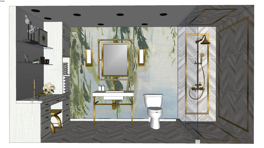 Bathroom Option2 3d Warehouse