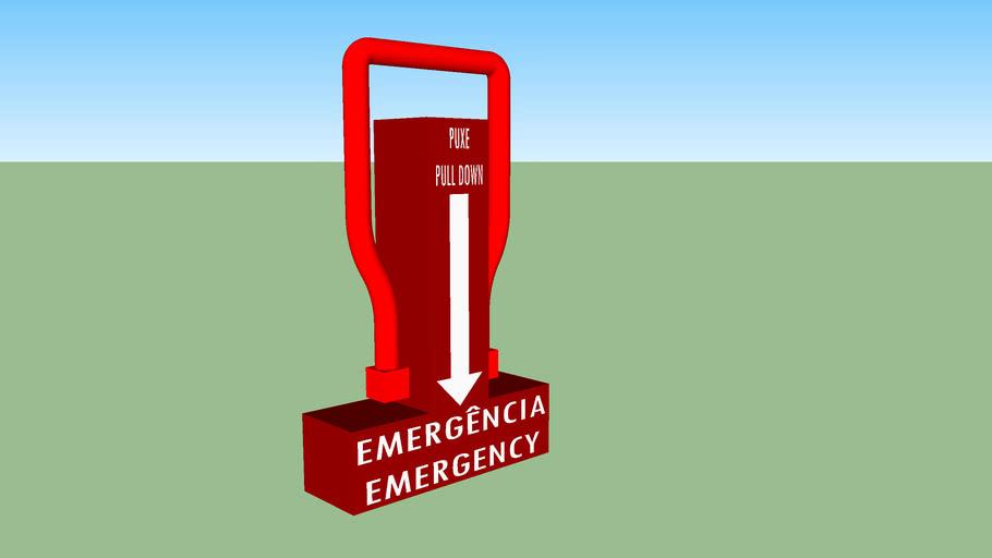 Emergency Lever // Alavanca De Emergência