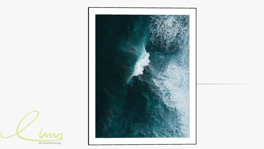 Quadro decorativo alto mar - Paola Cury