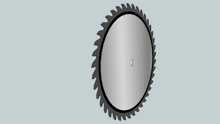 10-inch 40-tooth table saw blade