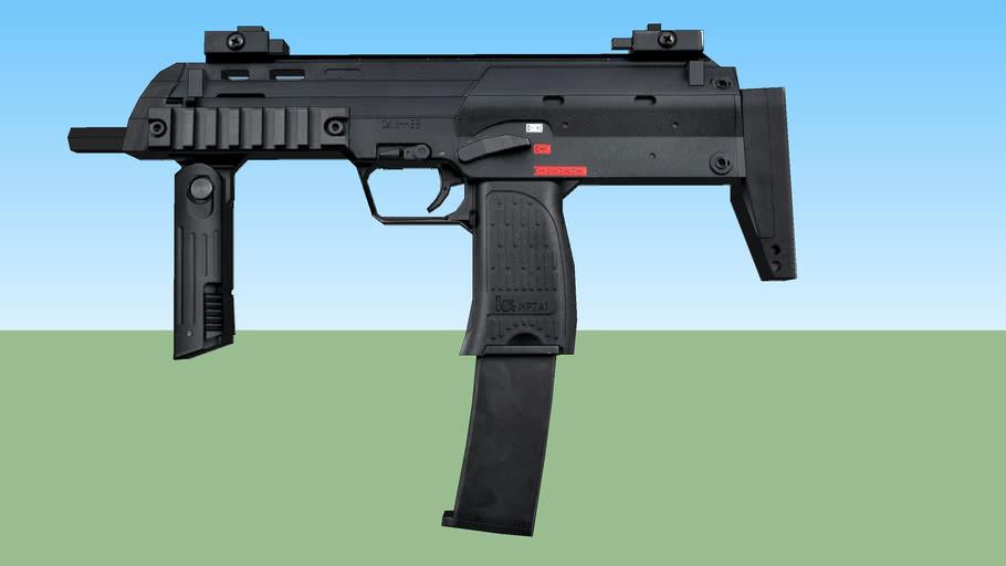 KWA MP7A1 LowPoly