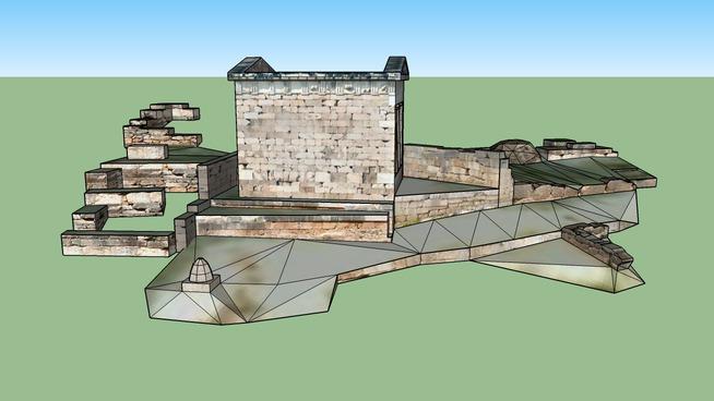 Θησαυρός των Αθηναίων, Δελφοί - Athenian Treasury, Delphi
