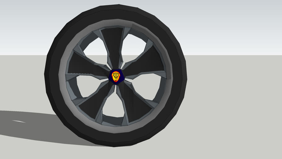 """SERATED"" wheel & tire by hayden"