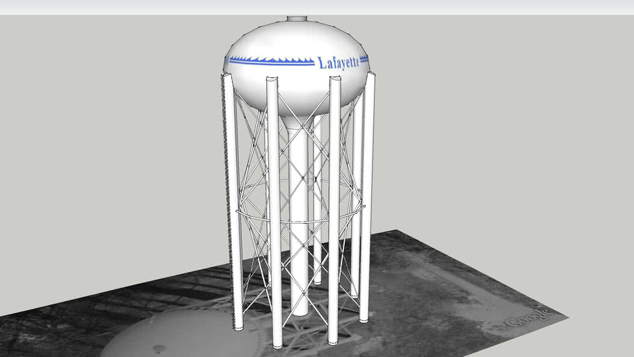 Lafayette Water Tower #2
