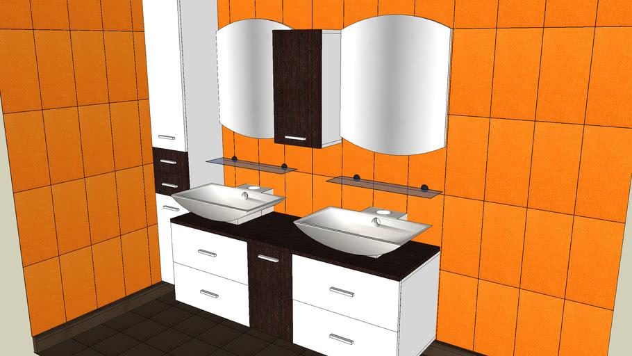 Bathroom unit product line Orion Makassar by Gorenje