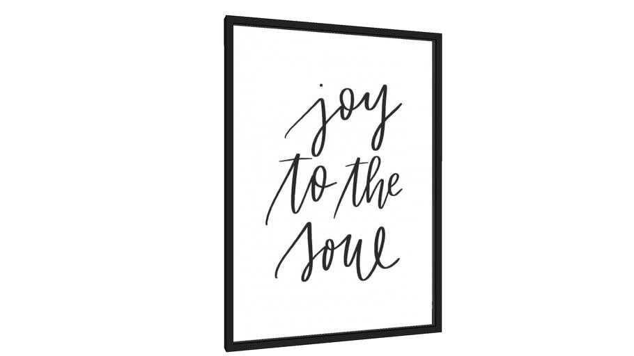 Quadro Joy To The Soul - Galeria9, por Rachel Moya