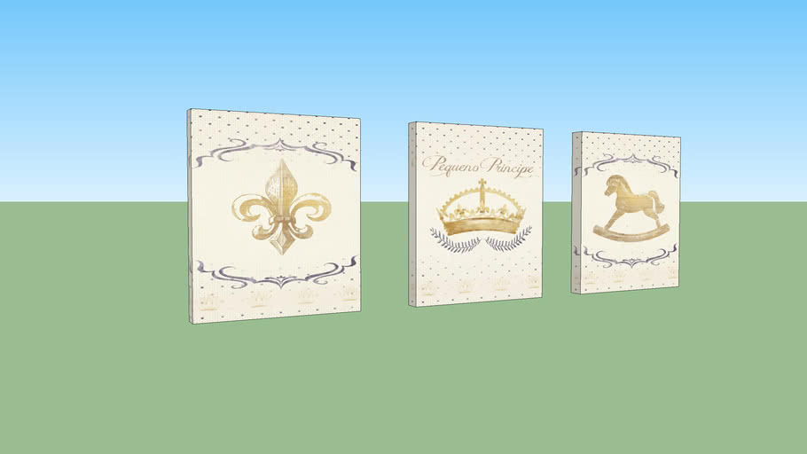 Quadro Nobile Coroa Marinho
