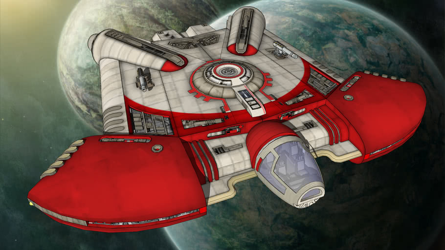 Star Wars - Ghtroc 720 Light Freighter