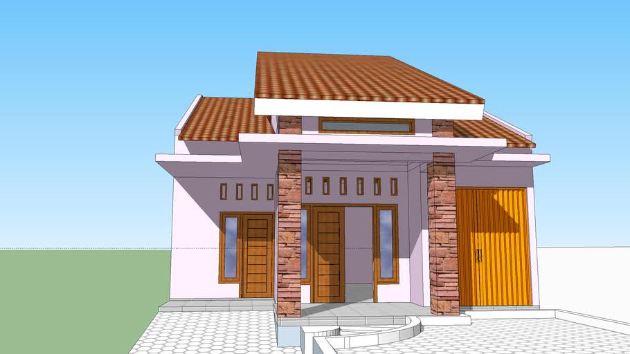 Rumah Minimalis 2018 Basedcom Abdul Basid 3d Warehouse