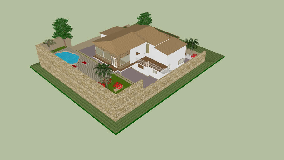 Ing Leger Plan De Maison 3d Warehouse