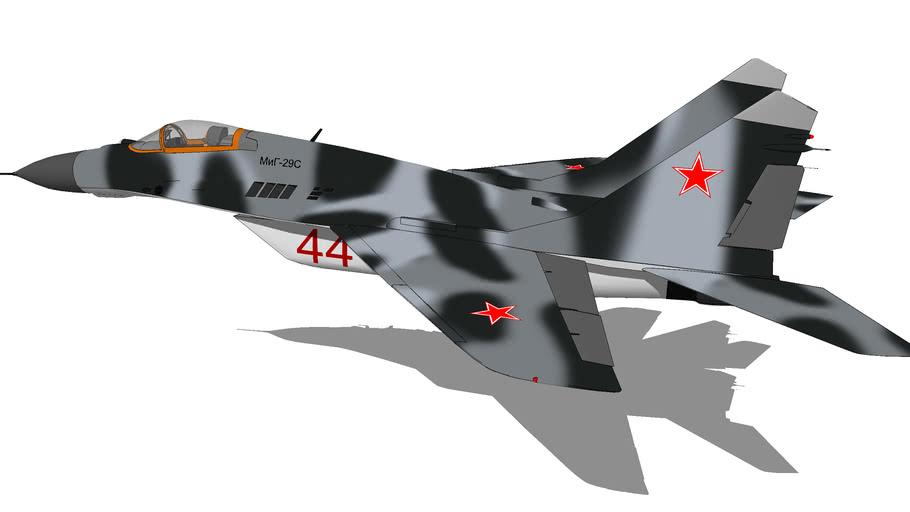 "Aircraft - Mikoyan MiG-29S ""Fulcrum-C"""