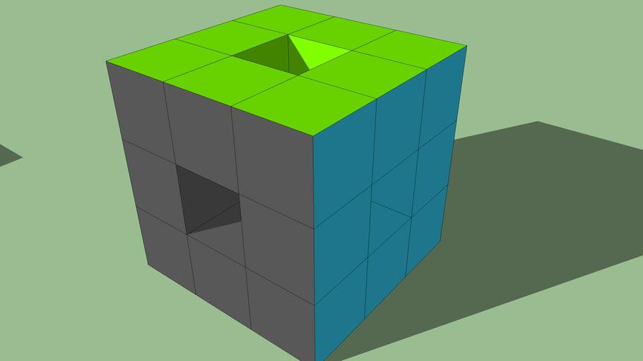 Niccolò - Cubo di cubi