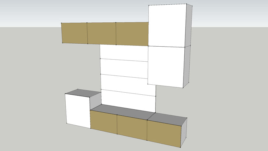 IKEA BESTA TV-storage combination