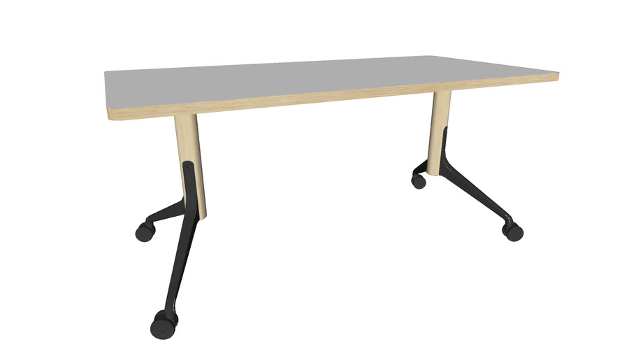 Woodstock Flip Top Table, By Icons of Denmark