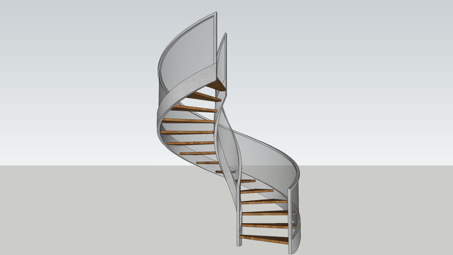 Spiral Staircase 3d Warehouse