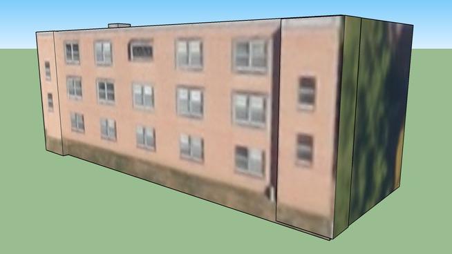 Ēka adresē Hadley, Misūri, Amerikas Savienotās Valstis