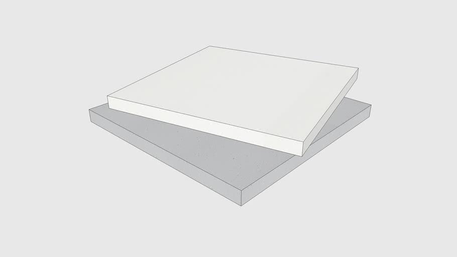 Skum Acoustics - Slät – Basotect acoustic panel