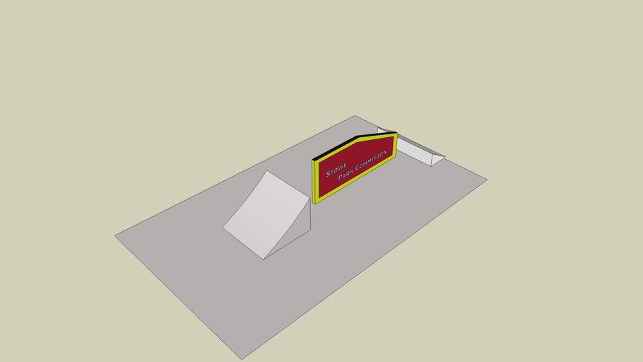 Flat-down Rail