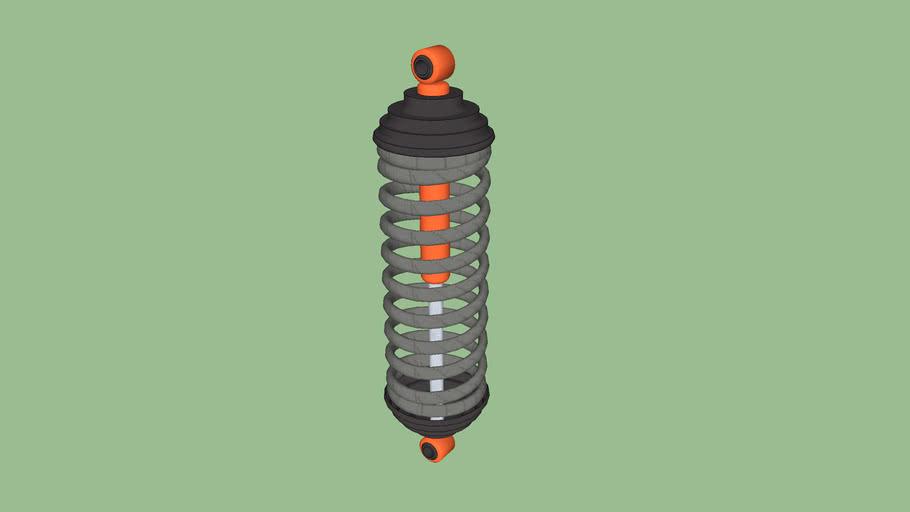 espiral y amortiguador