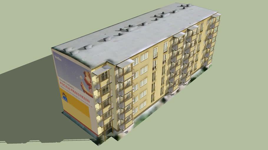 Blok mieszkalny przy ul. Przy Kaszowniku 41 w Toruniu