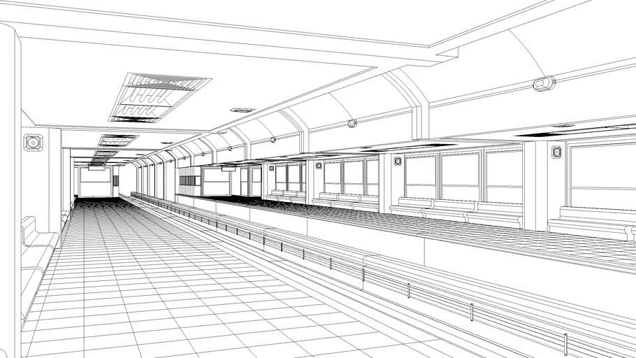 Estacion Subterraneo Sub station monoriel