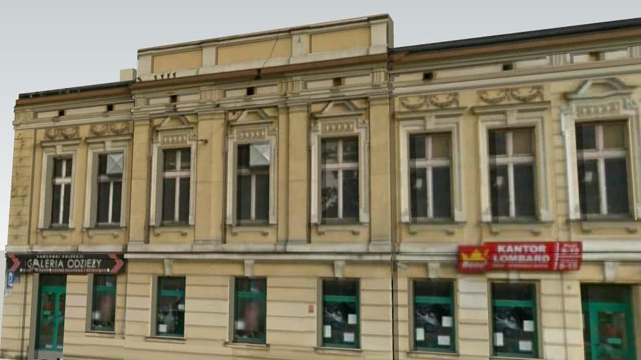 Kamienica przy ul. Narutowicza w Łodzi