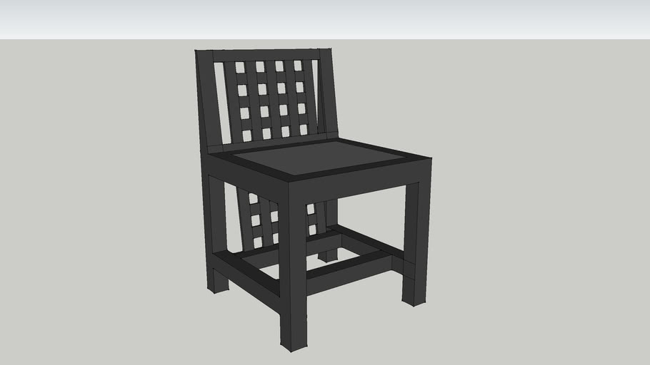 Mackintosh chair D.S.3.