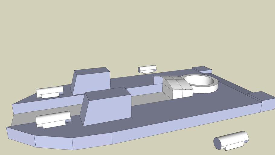 SRN6 Mk5 (well deck) hovercraft (not finished)