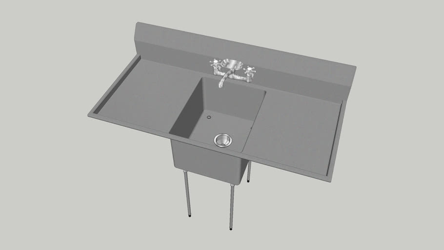Advance Tabco FE-1-1620-18RL Commercial Sink
