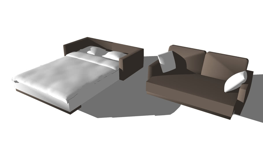 transformist sofa bed - Ausziehbett