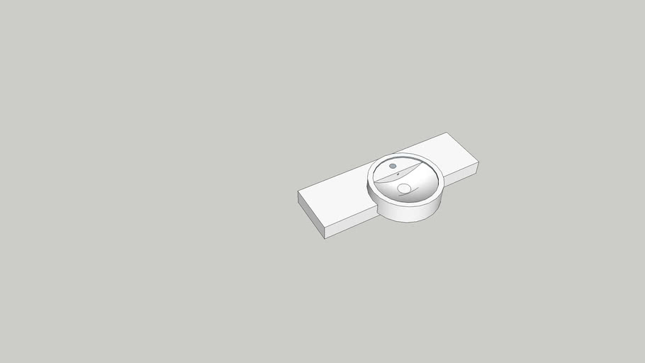 Semi-Recessed Lavatory